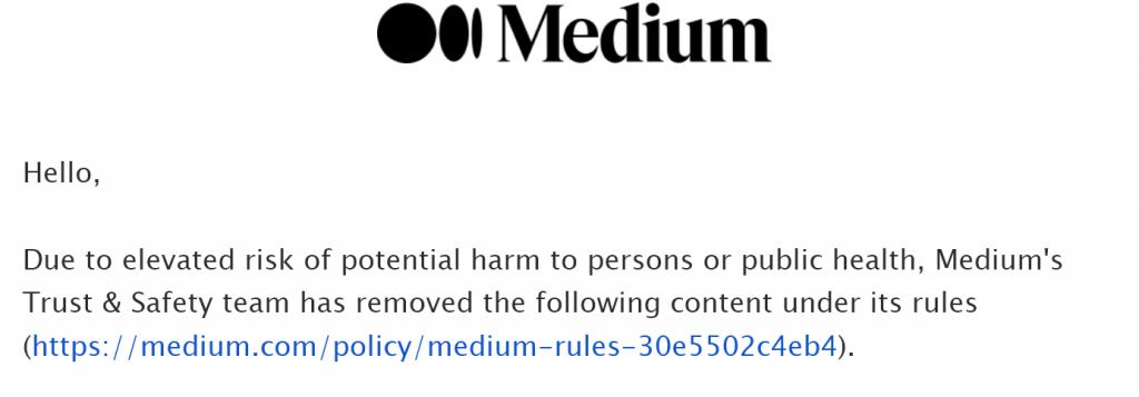 MediumArticle